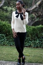 j crew giant bow sweater