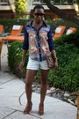 White-persunmall-shorts-navy-persunmall-blouse-brown-bcbgeneration-wedges