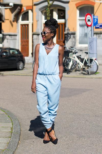 Zara shoes - Zara bodysuit - f21 necklace