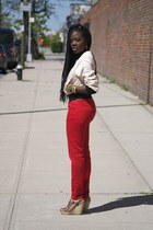 H&M jacket - Zara jeans