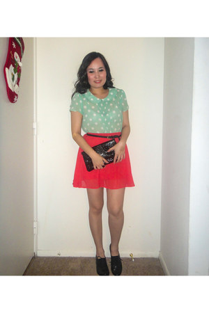 Forever 21 top - H&M skirt