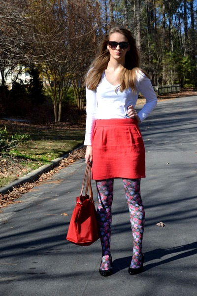 Mossimo skirt - Old Navy shirt