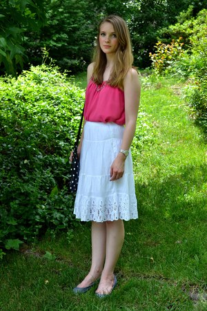 Old Navy skirt - Forever 21 top - TOMS flats