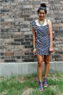 Magenta-aldo-sandals-navy-envy-me-dress-carrot-orange-target-bag