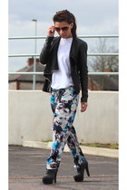 new look jacket - Primark pants - asos heels