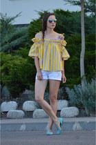 yellow Chicwish shirt