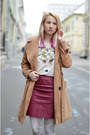 Dark-brown-lace-up-alto-gradimento-boots-camel-topshop-coat