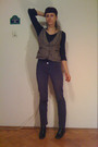 Gray-promod-vest-black-shirt-blue-h-m-jeans-black-no-label-boots-beige-s