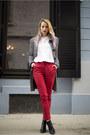 Black-stradivarius-boots-black-houndstooth-c-a-coat-red-poema-pants