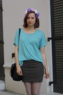 Olive-green-h-m-shoes-turquoise-blue-nowistyle-shirt