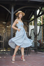 Blue-chicwish-dress