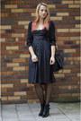 Black-cut-out-stradivarius-boots-black-dirndl-thrifted-vintage-dress