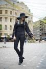 Black-h-m-hat-black-lace-kimono-sheinside-blazer