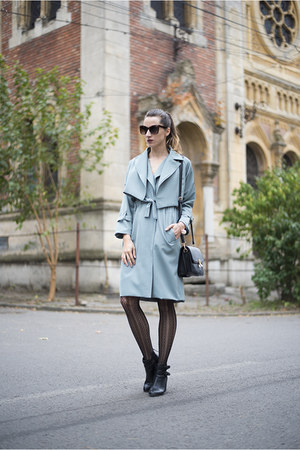 teal Chicwish coat