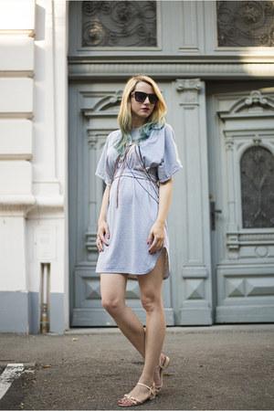 silver zaful dress