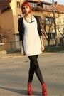 Ruby-red-jeffrey-campbell-boots-white-bershka-dress