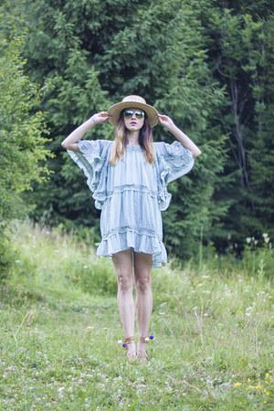 teal Chicwish dress