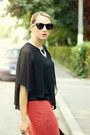 Black-nowistyle-shirt-black-stradivarius-bag-black-h-m-sunglasses