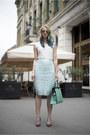 Aquamarine-nowistyle-bag-light-blue-perforated-h-m-skirt