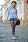 Heather-gray-nowistyle-sweater-black-heart-charme-tights-black-nowistyle-bag