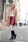 Dark-brown-lace-up-alto-gradimento-boots-camel-topshop-coat
