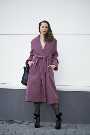 amethyst Woman Fashion coat