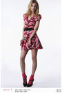 Red-zac-posen-for-target-dress-black-zara-shoes