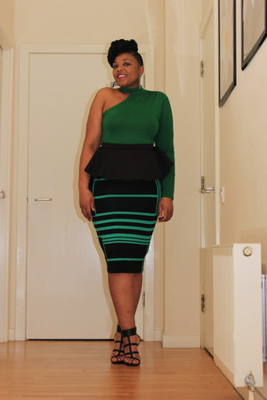 asos skirt - top is a dress asos dress - Ebay heels