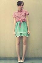 aquamarine kling dress