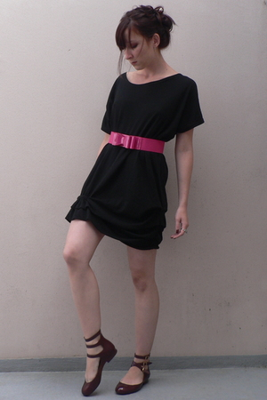 storets dress - new look belt - Melissa shoes