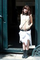 Valentine Gauthier jacket - H&M dress - new look boots