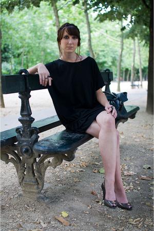 storets dress - H&M purse - vivienne westwood for melissa shoes