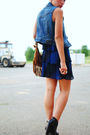 Thrifted-dress-forever-21-bag-diy-from-jacket-vest-charlotte-russe-shoes