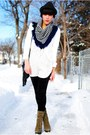 Forever-21-hat-scarf-urban-outfitters-blazer-forever-21-blouse-forever-2