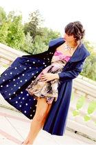 vintage jacket - Diane Von Fursetenburg dress