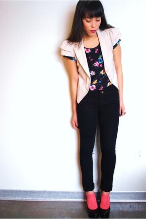 Forever 21 blazer - Forever 21 jeans - Forever 21 blouse