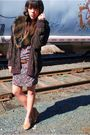 Thrifted-dress-thrifted-cardigan-forever-21-shoes