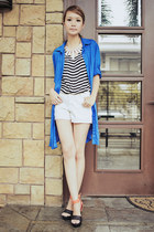 Just G top - Just G top - Just G shorts - fashioncookie shoeavenue heels