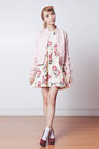 Ivory-floral-sheinside-dress-light-pink-varsity-murua-jacket