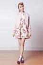 Ivory-floral-sheinside-dress-light-pink-varsity-murua-jacket