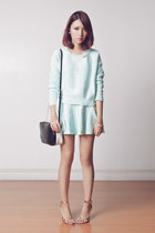 aquamarine set Choies sweater - black two tone Marc by Marc Jacobs bag