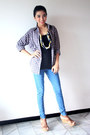 Zara-jeans-nn-shirt-topshop-top-bruno-premi-wedges-nn-necklace