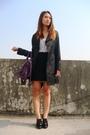 Black-strawberry-skirt