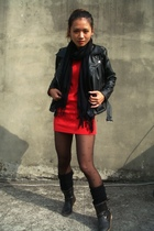 black cantwo jacket