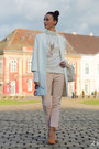 White-zara-coat-zara-pants-peach-pour-la-victoire-pumps