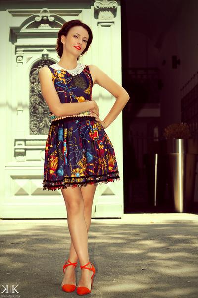 Mamoiselle Couture dress - Zara heels