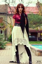 Miss Sixty boots - Mexx shirt