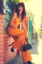 Zara pants - Zara top - Steve Madden sandals