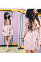 periwinkle free people dress