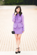light purple Maurie & Eve dress
